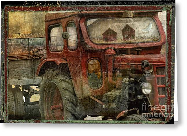 Country Reflections Greeting Card by Mindy Sommers