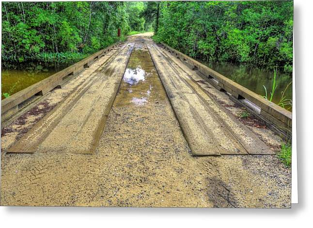 Rural Florida Greeting Cards - Country roads Greeting Card by JC Findley