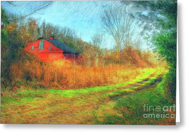 Print Photographs Greeting Cards - Country Roads Greeting Card by Tina  LeCour