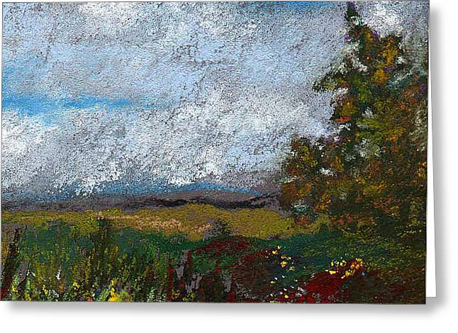 Meadow Pastels Greeting Cards - Countryside II Greeting Card by David Patterson