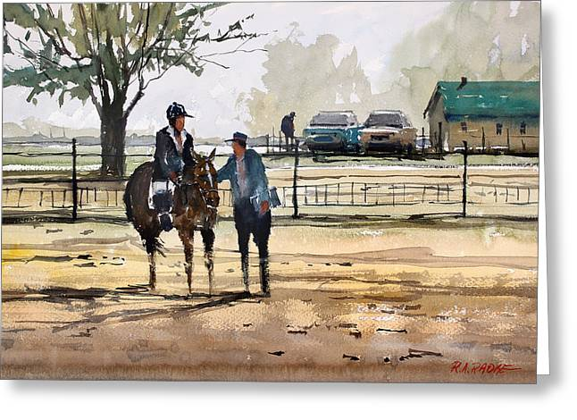 Horse Rider Greeting Cards - County Fair Memories Greeting Card by Ryan Radke