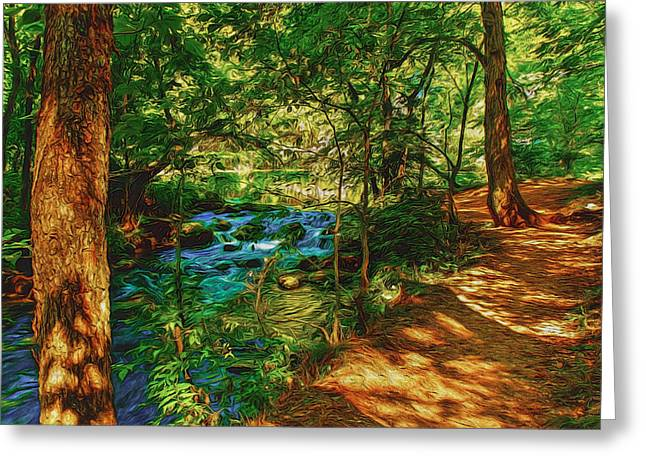 Nature Greeting Cards - Courting Adventure Greeting Card by John Bailey