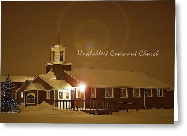 Covenant Church Greeting Card by Arlene Rhoda Nanouk