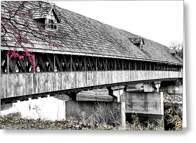 Country Greeting Cards - Covered Bridge 2 Greeting Card by Scott Hovind