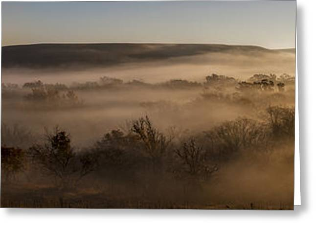 Mystical Landscape Greeting Cards - Covered In Fog Greeting Card by Scott Bean