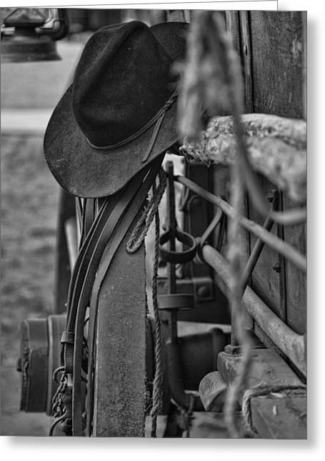 Cowboy Hat  Greeting Card by Toni Hopper