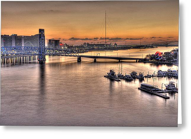 Jacksonville Greeting Cards - Cowford Circa 2010 Greeting Card by William Jones