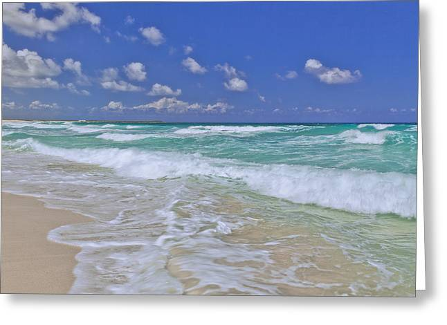 Cozumel Paradise Greeting Card by Chad Dutson