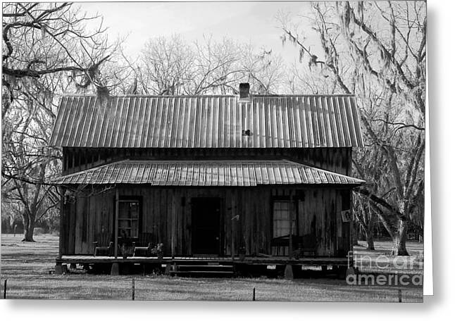 Old House Photographs Greeting Cards - Cracker Cabin Greeting Card by David Lee Thompson