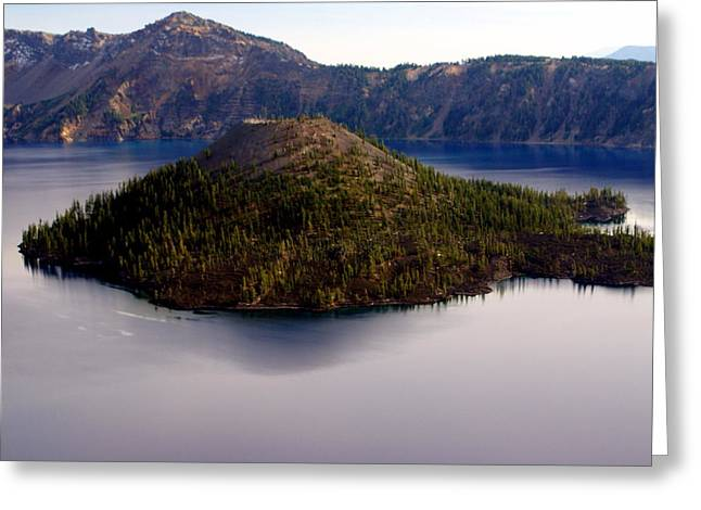 Marty Koch Greeting Cards - Crater Lake 1 Greeting Card by Marty Koch