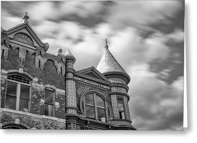 Crawford County Greeting Cards - Crawford County Bank II Greeting Card by James Barber
