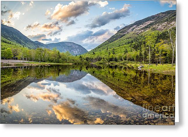 Crawford Notch New Hampshire Greeting Card by Benjamin Williamson