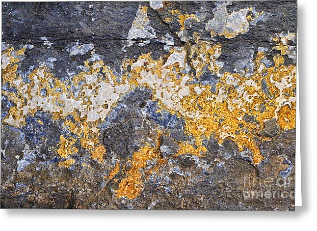 Rock Texture Greeting Cards - Creation Greeting Card by Tim Gainey