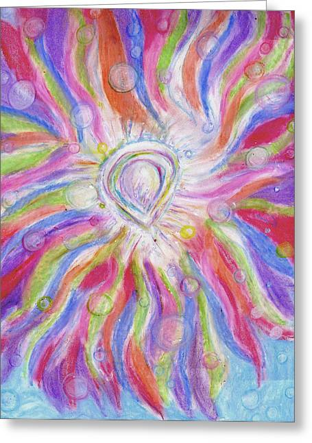 Majestic Pastels Greeting Cards - Creative Miracles Greeting Card by Cassandra Donnelly