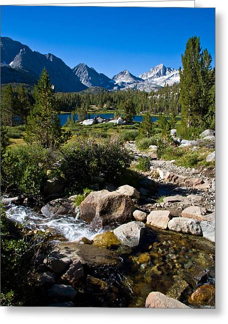 Heart Lake Greeting Cards - Creek at Heart Lake Greeting Card by Chris Brannen