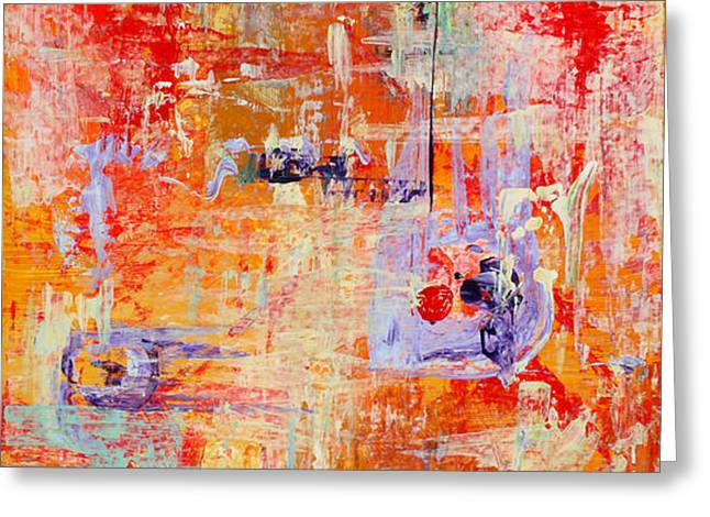 Crescendo Greeting Card by Pat Saunders-White