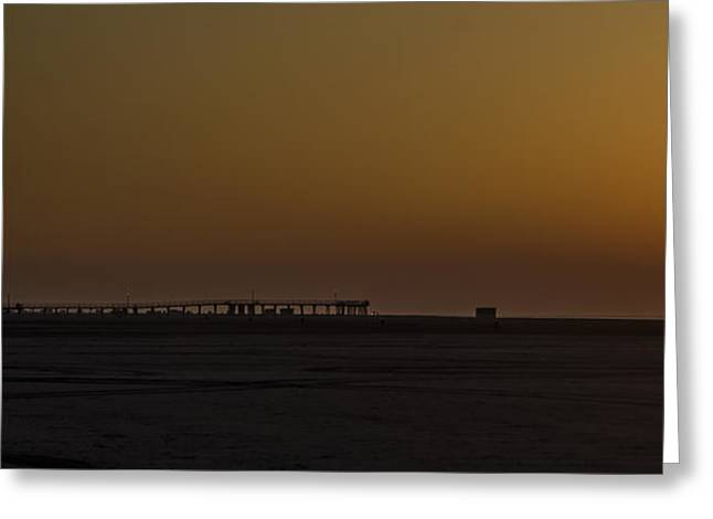 Bill Cannon Photography Greeting Cards - Crest Pier Panorama Greeting Card by Bill Cannon