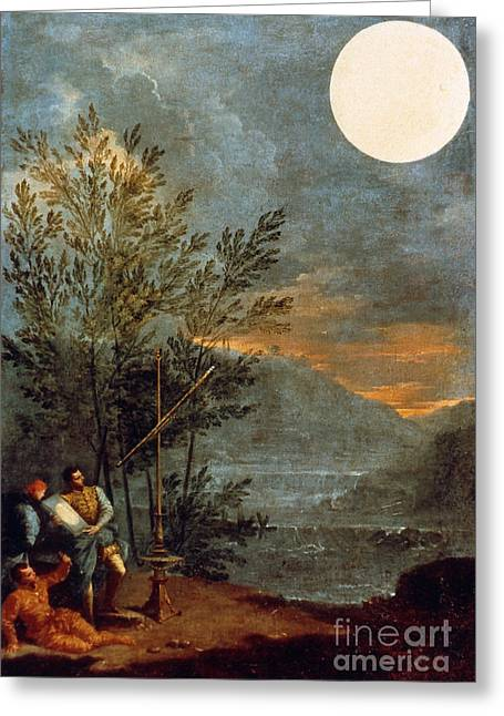 1711 Greeting Cards - Creti: The Sun, 1711 Greeting Card by Granger