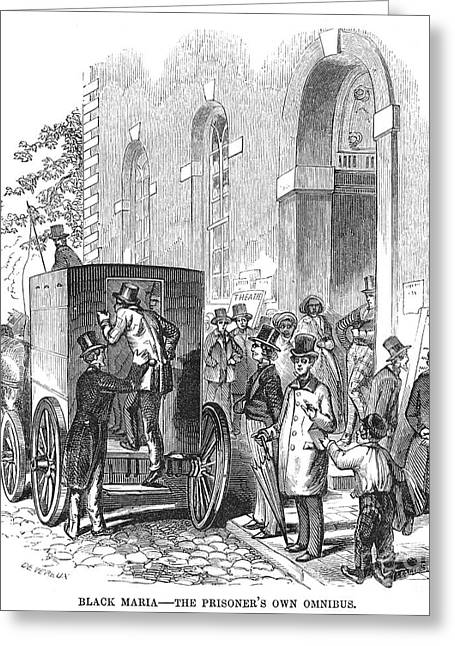 Crime: Policeman Greeting Card by Granger