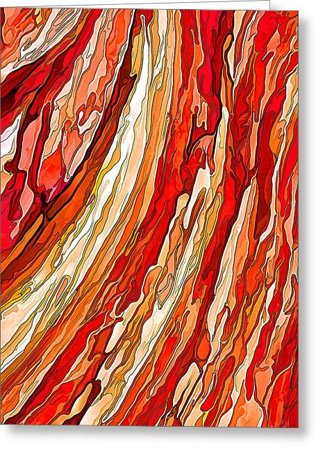 Crimson Tide Greeting Card by ABeautifulSky Photography
