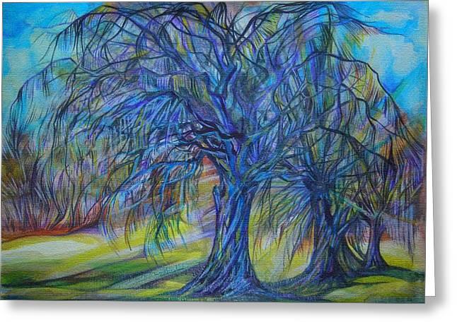 Anna Duyunova Art Greeting Cards - Cristal Light Greeting Card by Anna  Duyunova