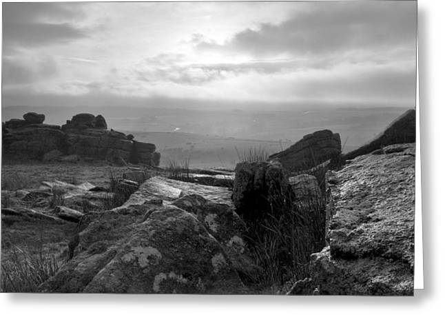 Dartmoor Greeting Cards - Crockern Tor Greeting Card by Brian Northmore