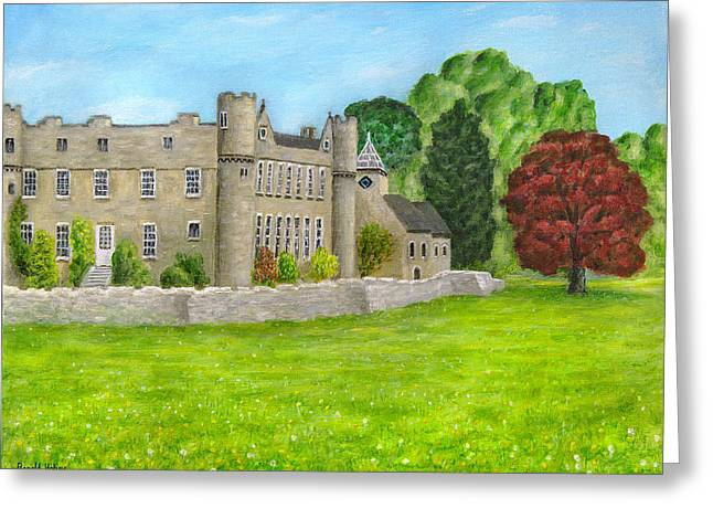 Castle Greeting Cards - Croft Castle - Herefordshire Greeting Card by Ronald Haber