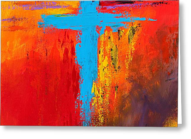 Cross 3 Greeting Card by Kume Bryant