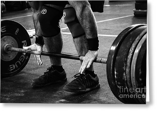 Greeting Cards - Crossfit Function 2 Greeting Card by Bob Christopher