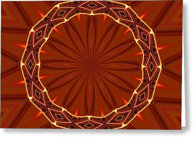 Crown of Thorns Greeting Card by Kristin Elmquist