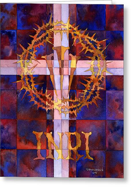 Good Friday Greeting Cards - Crown Of Thorns Greeting Card by Mark Jennings