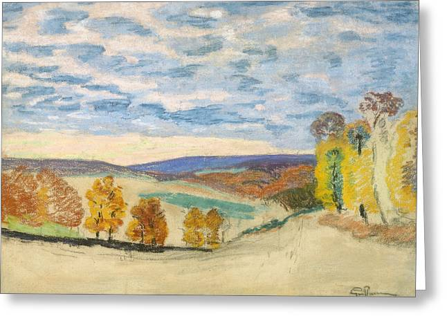 Crozant Greeting Card by Jean-Baptiste Armand Guillaumin