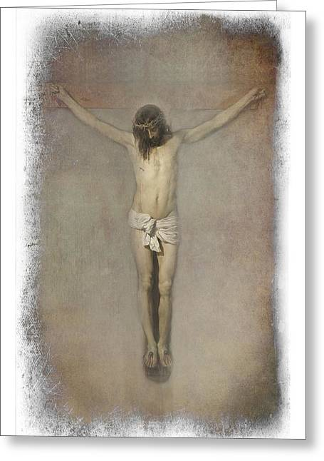 Crucifixion Of Jesus Christ  Greeting Card by Movie Poster Prints