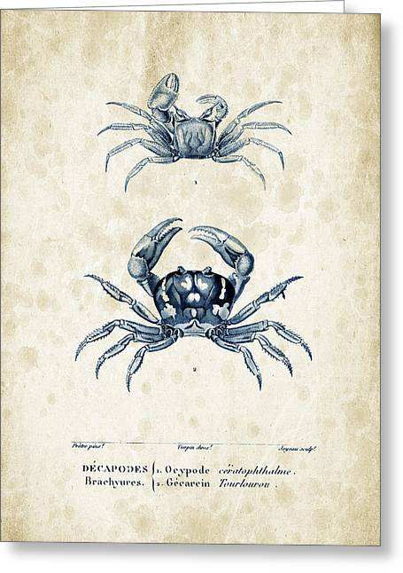 Fossil Greeting Cards - Crustaceans - 1825 - 10 Greeting Card by Aged Pixel