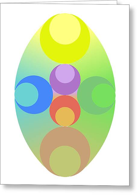 Coloured Greeting Cards - Cruz Greeting Card by Francisco Rodriguez