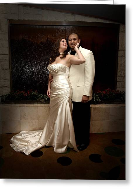 Wedding Photo Greeting Cards - Crystal and Chris 2 Greeting Card by James Granberry
