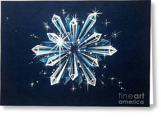 Faa Exclusive Greeting Cards - Crystal Clarity Greeting Card by Shasta Eone