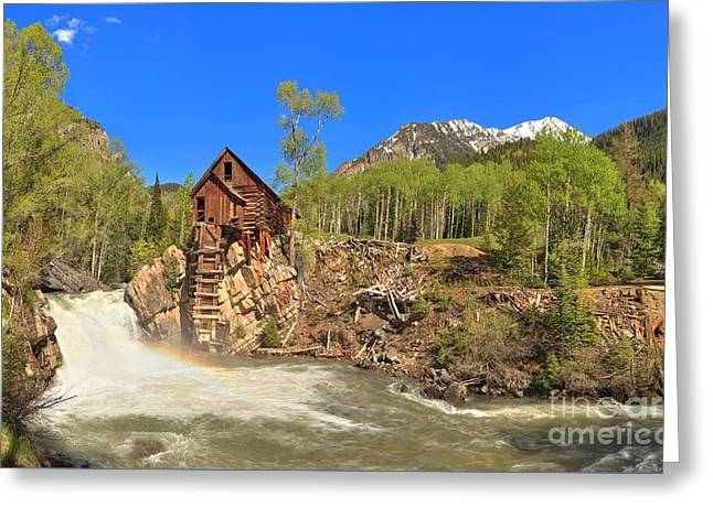 Crystal Mill Greeting Cards - Crystal Colorado Dead Horse Mill Greeting Card by Adam Jewell