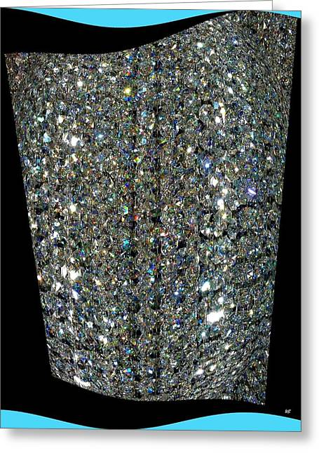 Refracted Light Greeting Cards - Crystal Ice Greeting Card by Will Borden
