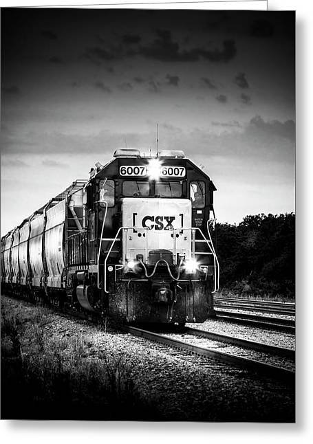 Csx 6007 Greeting Card by Marvin Spates