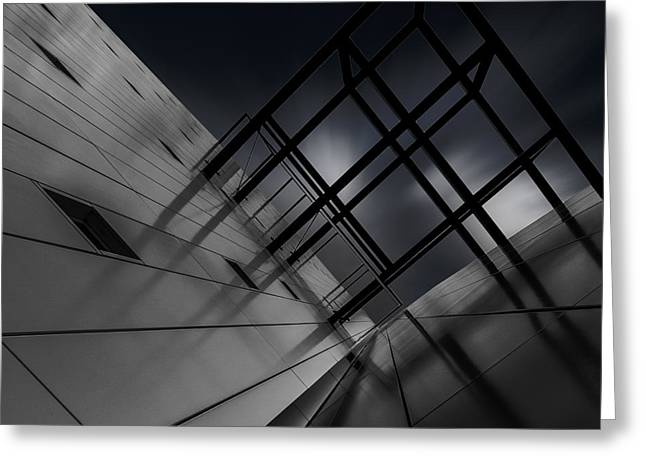 Buildings Greeting Cards - Cubism Greeting Card by Gilbert Claes