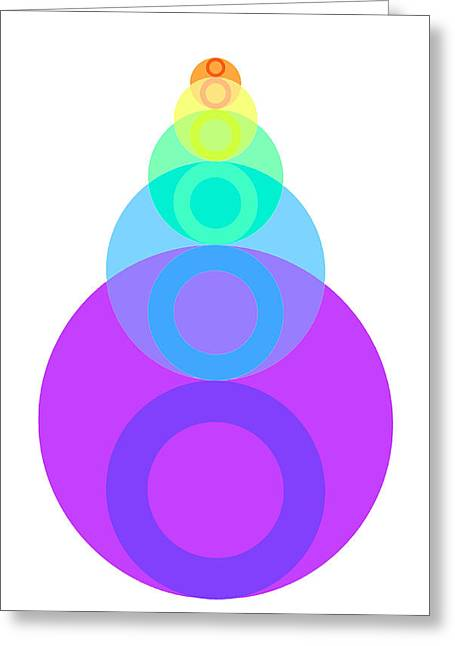 Coloured Greeting Cards - Cucurucho Greeting Card by Francisco Rodriguez