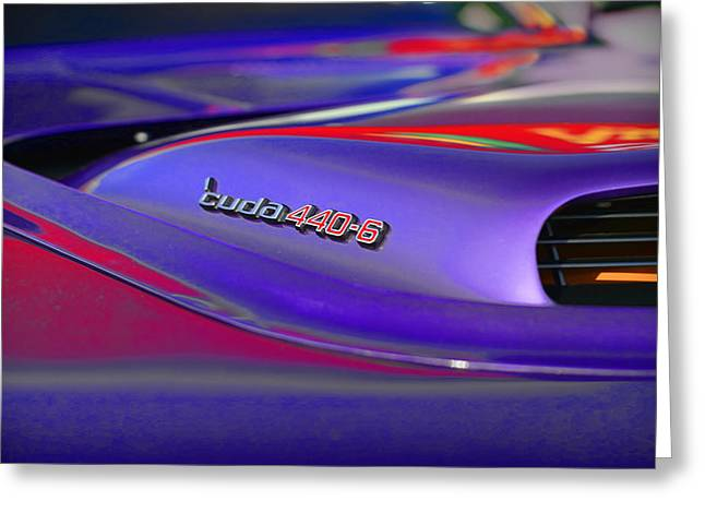 Cuda Greeting Cards - Cuda 440-6 Greeting Card by Gordon Dean II