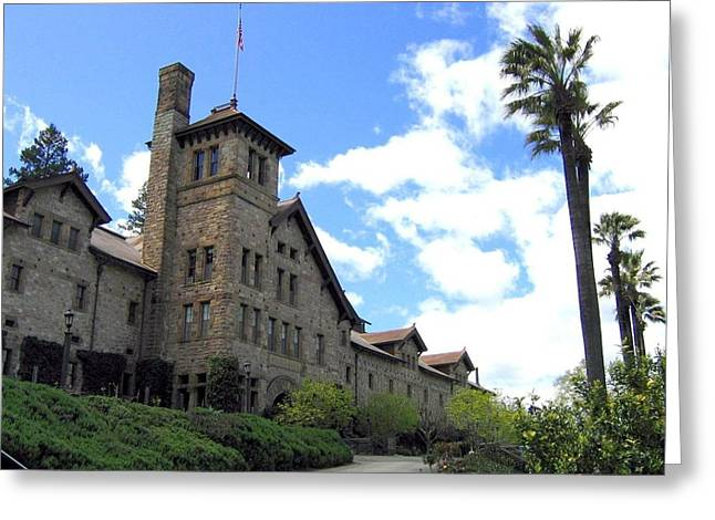 Culinary Greeting Cards - Culinary Institute of America Greystone Greeting Card by Will Borden