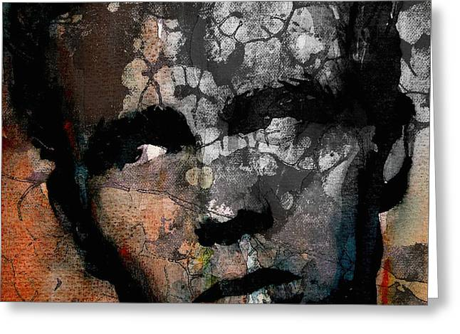 James Dean Greeting Cards - Cultural icon Greeting Card by Paul Lovering