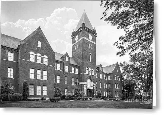 Cumberland University Memorial Hall Greeting Card by University Icons