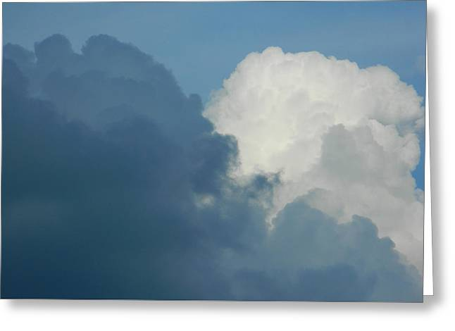 Storm Prints Digital Greeting Cards - Cumulus Mix Greeting Card by Emmy Marie Vickers