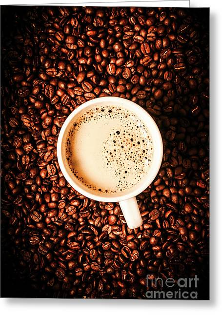Cup And The Coffee Store Greeting Card by Jorgo Photography - Wall Art Gallery