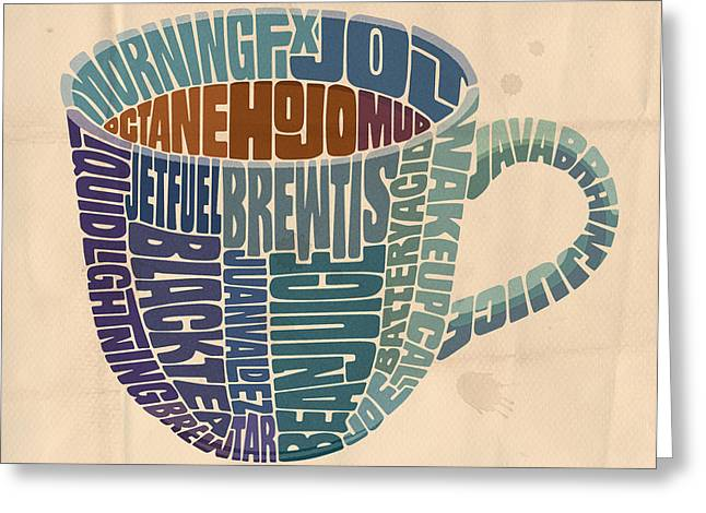 Cup O' Joe Greeting Card by Mitch Frey