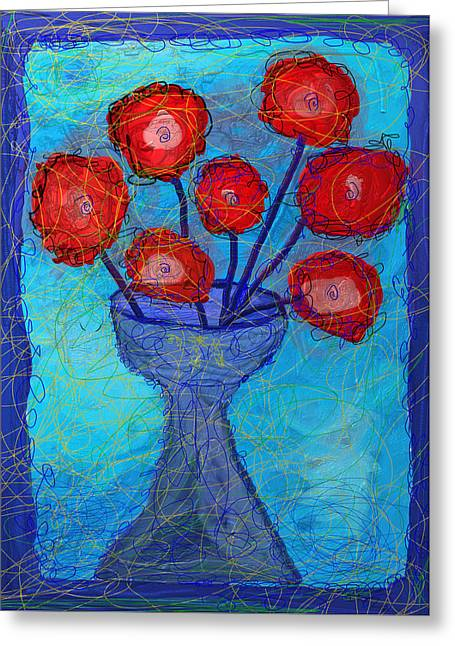 Purim Greeting Cards - Cup Of Life -Greeting Card Greeting Card by Ian Roz
